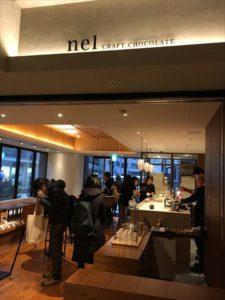 同じ1階にあるチョコレートショップ「nel CRAFT CHOCOLATE TOKYO」
