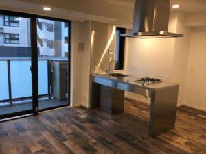 アパートメントで連携契約ができる部屋。デザイン性を重視したおしゃれな空間が広がる